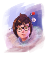 Mei | Overwatch by SthellaPeragi