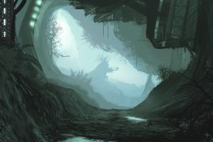 holiday cave by Exphrasis