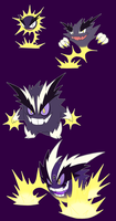 Regional Variant Gastly line by Mat4265