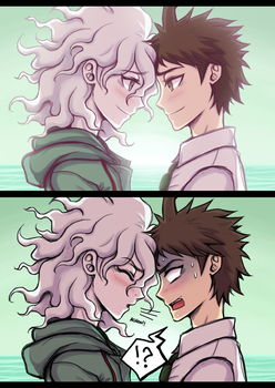 tragedy of the forehead touch by Mireryn