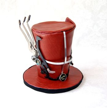 Tiny Top Hat: Steam Punk Reporter by TinyTopHats