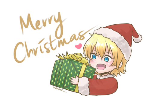 Xmas Rin By Lazendar by Teki-Shinichi
