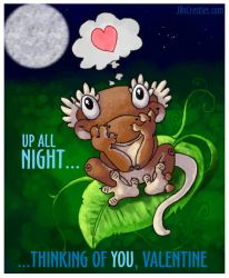 Crested Gecko Nocturnal Valentine by CatharsisJB
