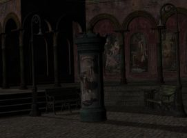 premade  background room 08 by Ecathe