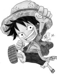 Monkey D. Luffy by Marcechan