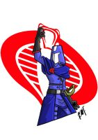 80s BADASS COBRA COMMANDER by emptypromises13