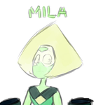 Peridot for Mila by KyuubiCore