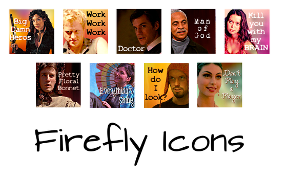 Firefly Icon Set by madaline-7