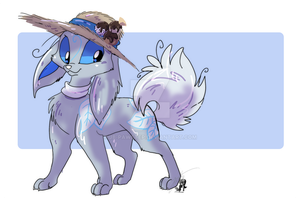 Frostel in Summer by JB-Pawstep