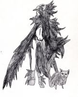 She is a Crow by LOrdalie