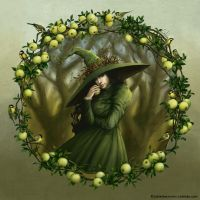 Tomtit Witch by LiaSelina