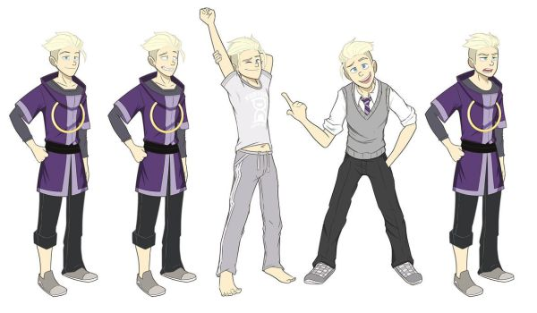 Hugo - Various Poses by Herohelix