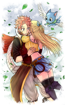 A year later [NaLu] by LeonS-7