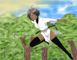 Young Yoruichi by ztrickfy