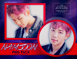 PNG PACK: Rap Monster (BTS) by Hallyumi