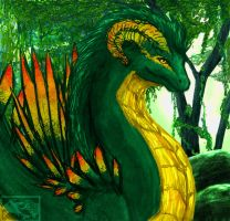Jungle Dragon by starring-star