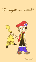 I caught a Pokemon by Tufsing