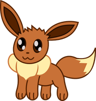 Eevee - Chibi style by Death-of-all