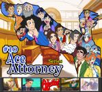 RM Jingle Jangle Countdown: Ace Attorney by Derede