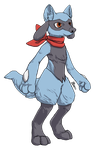 [R] Riolu by PurpleIllusn