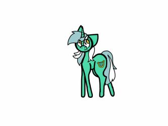 MLP Lyra by MooshroomMush