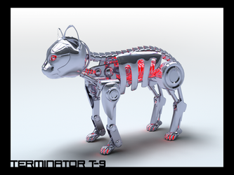 T-9 Terminator Cat by distortion-00