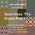 Seamless Tile SuperPak 1 by mindpoet61