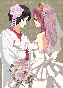 Love Letter Lovelies 6: Lovely Brides by Glee-chan