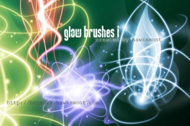 Glow Brushes I by hawksmont