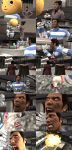 The real Kiryu wouldn't be off his meds... by MichaelJordy