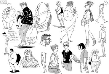 Life drawings Amiens by Tallychyck
