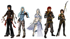 Heroes of Sarithora by DameOdessa