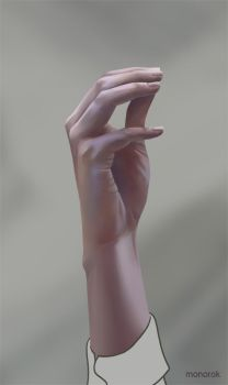 Hand study 3 by monorok