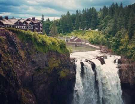 Snoqualmie falls,Washington state by Ivaylomitev