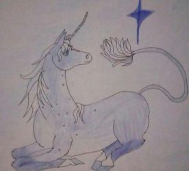 The Last Unicorn - Day 29 by Forbidden-Hanyou