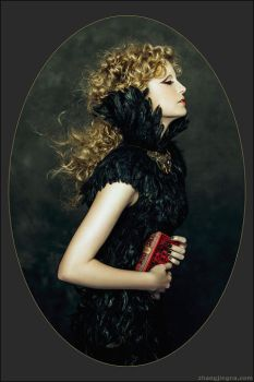 Motherland Chronicles #25 - Raven Girl by zemotion