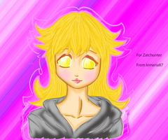 Peach joins organization XIII by Kimeria87