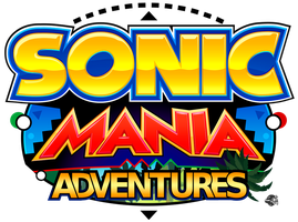 [RECREATION] Sonic Mania Adventures Logo by MotoBadnik