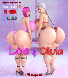 Lola n Olivia Hypnotic-cover by SuperTito