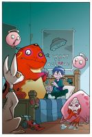 Monster Allergy cover by Pieshiro