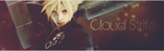 Cloud Strife Banner by CaliforniaBabeWV