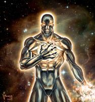 Cosmic Silver Surfer by Matelandia