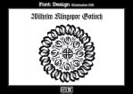 Font Design Wilhelm Klingspor by iFeelNoSorrow