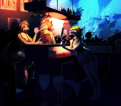 A night in the club by kyander