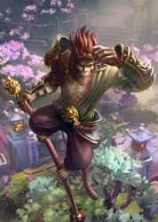 Monkey King by VladOgorodnyk