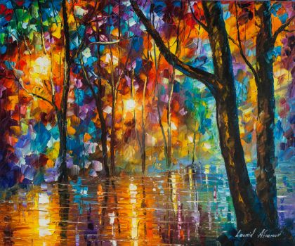 Thought That Matter by Leonid Afremov