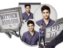 Png Pack 622 // Matthew Daddario by confidentpngs