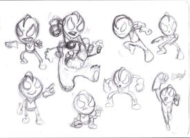 ultra kid sketches by richard-chin