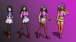 Eveleen's Transformation -colored- by Re-Maker