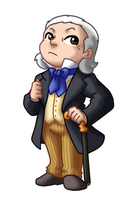 Chibi 1st Doctor by TwinEnigma